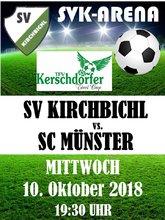 Plakat Cup Münster 10.10.2018