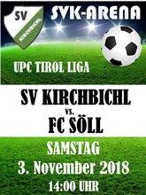 13. Plakat Söll 03.11.2018